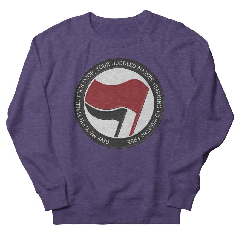 In The Name Of Liberty Men's Sweatshirt by Paparaw's T-Shirt Design