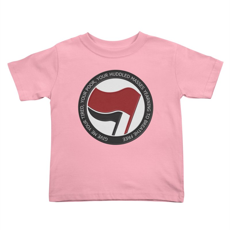 In The Name Of Liberty Kids Toddler T-Shirt by Paparaw's T-Shirt Design