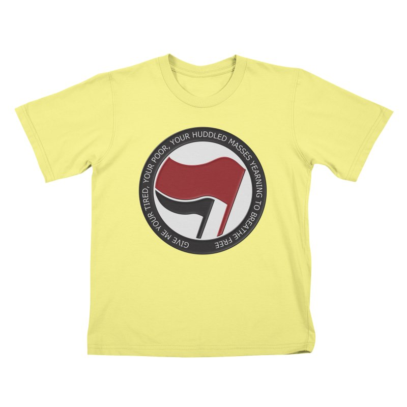 In The Name Of Liberty Kids T-shirt by Paparaw's T-Shirt Design