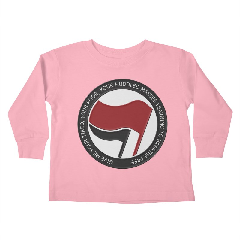 In The Name Of Liberty Kids Toddler Longsleeve T-Shirt by Paparaw's T-Shirt Design