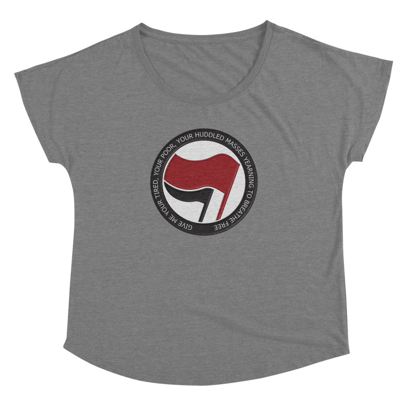 In The Name Of Liberty Women's Dolman by Paparaw's T-Shirt Design