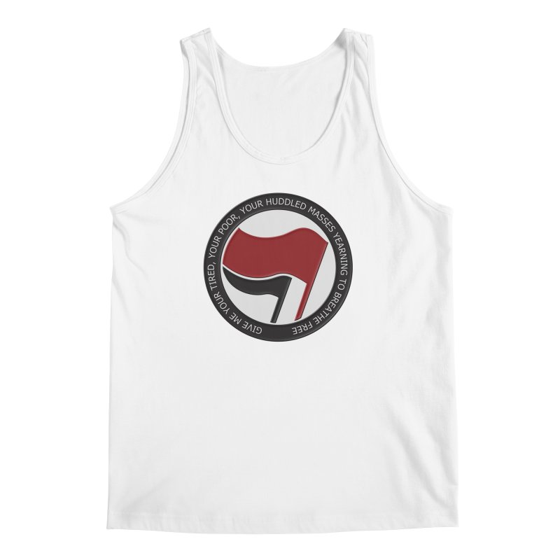 In The Name Of Liberty Men's Tank by Paparaw's T-Shirt Design