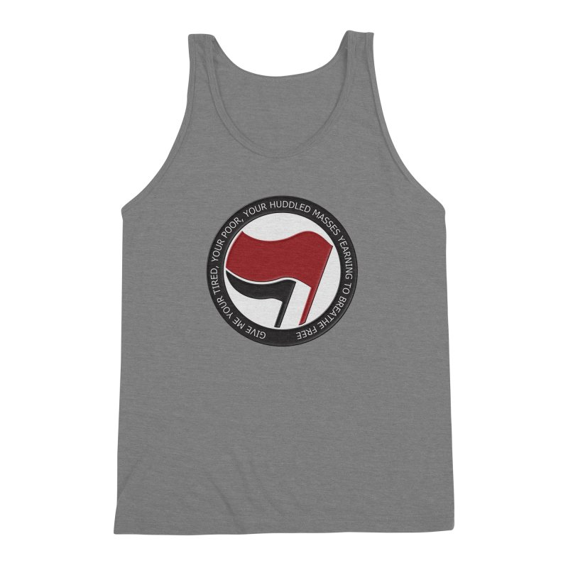 In The Name Of Liberty Men's Triblend Tank by Paparaw's T-Shirt Design