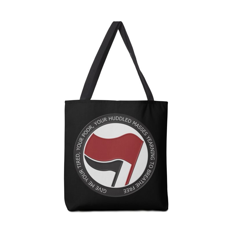 In The Name Of Liberty Accessories Bag by Paparaw's T-Shirt Design