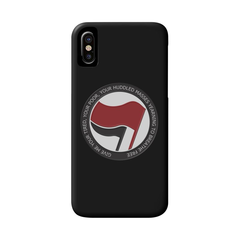 In The Name Of Liberty Accessories Phone Case by Paparaw's T-Shirt Design