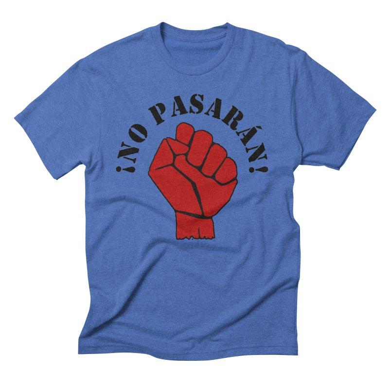 !NO PASARAN! Men's Triblend T-Shirt by Paparaw's T-Shirt Design