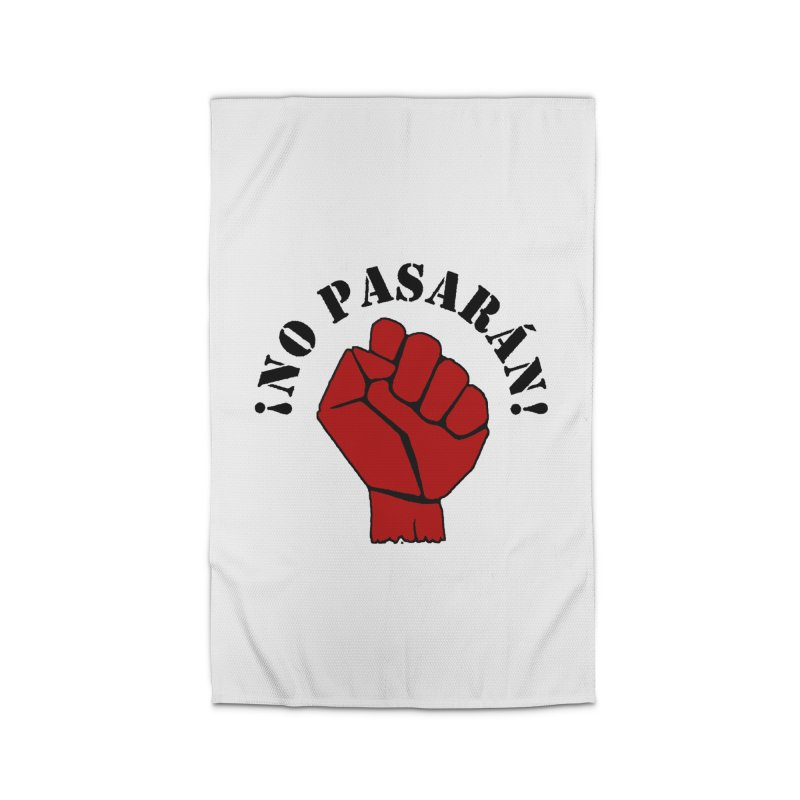 !NO PASARAN! Home Rug by Paparaw's T-Shirt Design