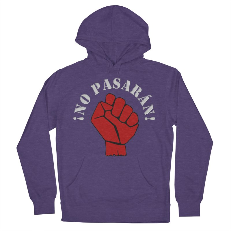 NO PASARAN Women's Pullover Hoody by Paparaw's T-Shirt Design