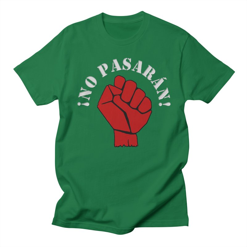 NO PASARAN Men's T-Shirt by Paparaw's T-Shirt Design