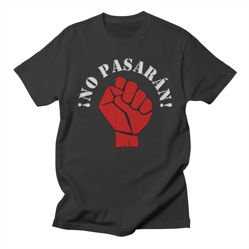NO PASARAN Men's T-Shirt by Paparaw's T-Shirt Design