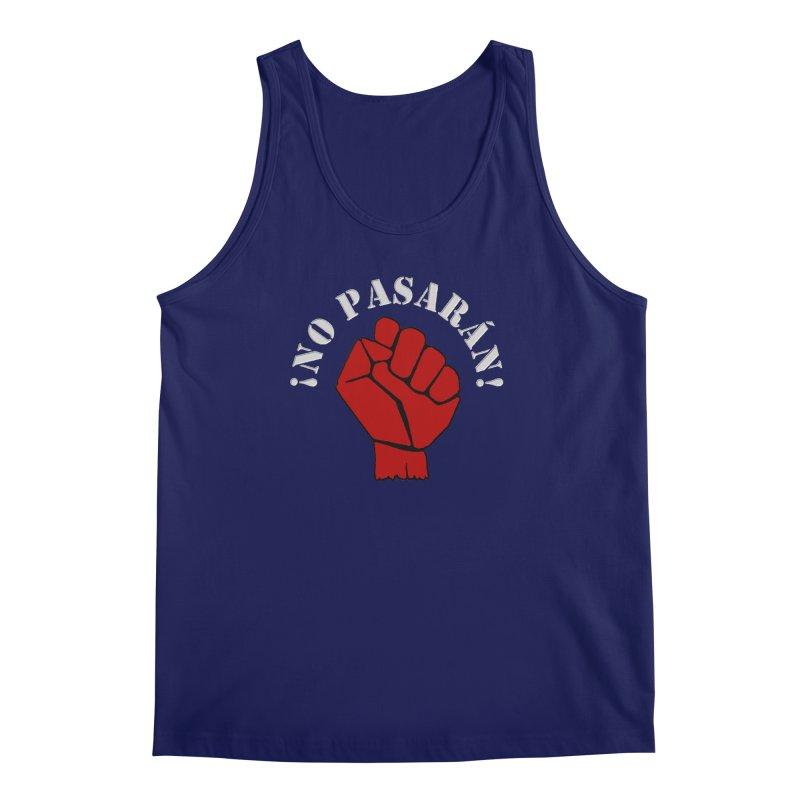 NO PASARAN Men's Tank by Paparaw's T-Shirt Design