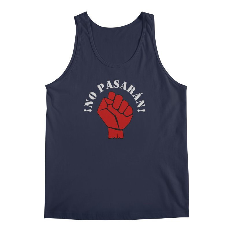 NO PASARAN Men's Tank by Paparaw's T-Shirt Design