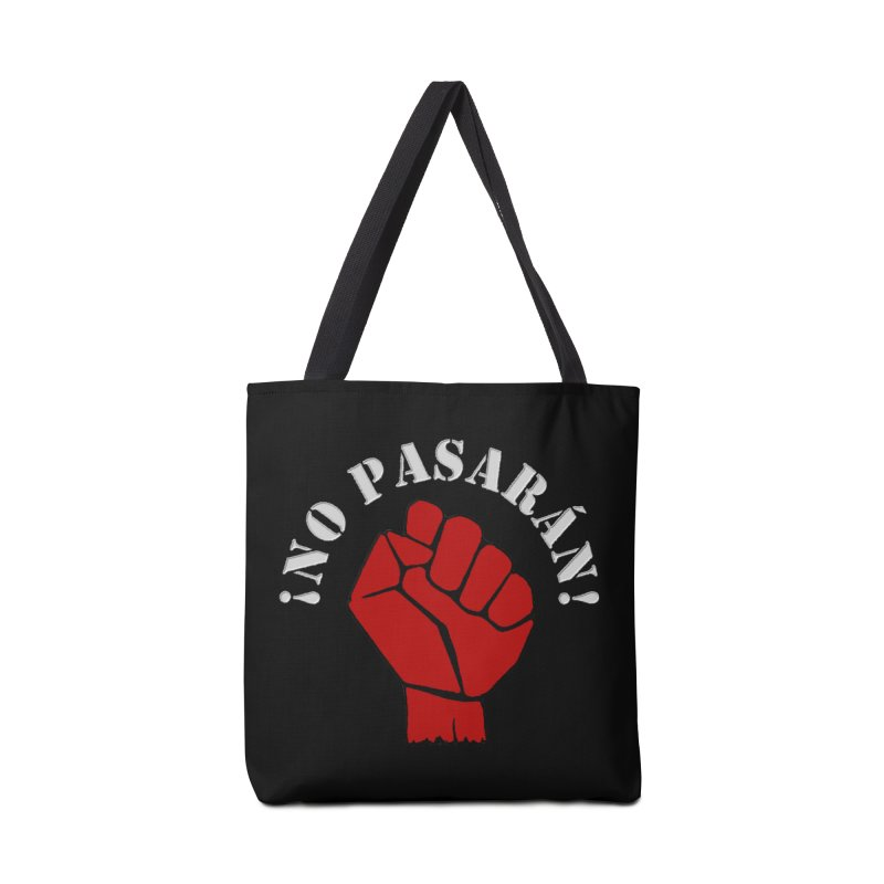 NO PASARAN Accessories Bag by Paparaw's T-Shirt Design
