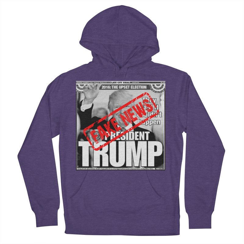 If Only It Was 'FAKE NEWS' Men's Pullover Hoody by Paparaw's T-Shirt Design