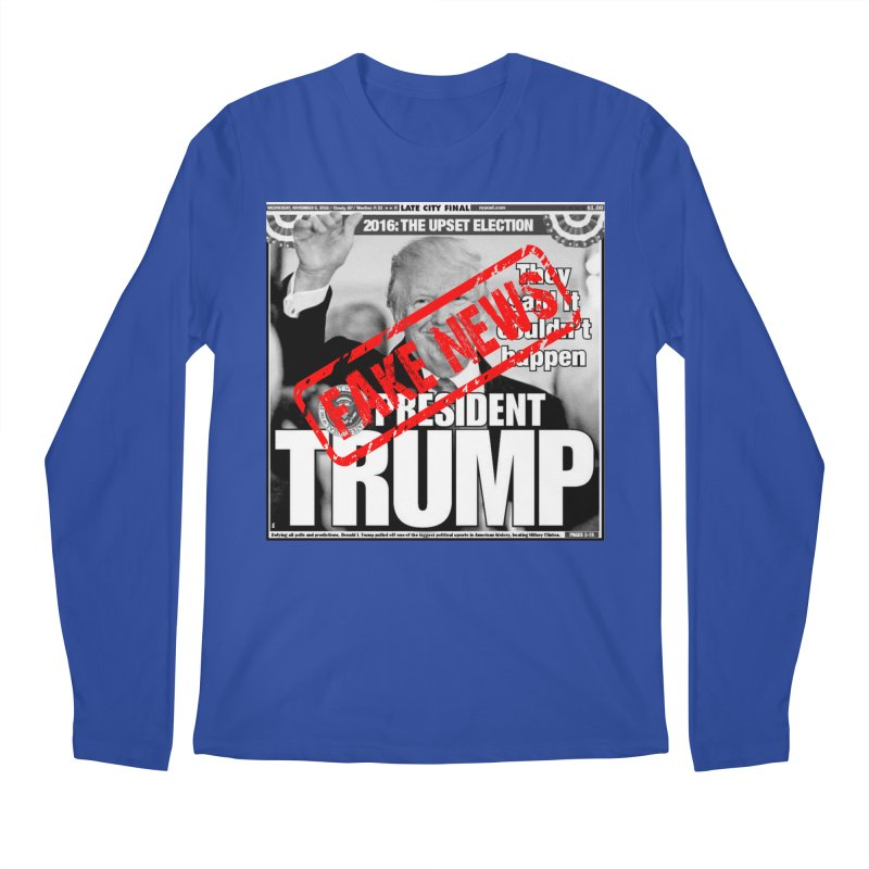 If Only It Was 'FAKE NEWS' Men's Longsleeve T-Shirt by Paparaw's T-Shirt Design