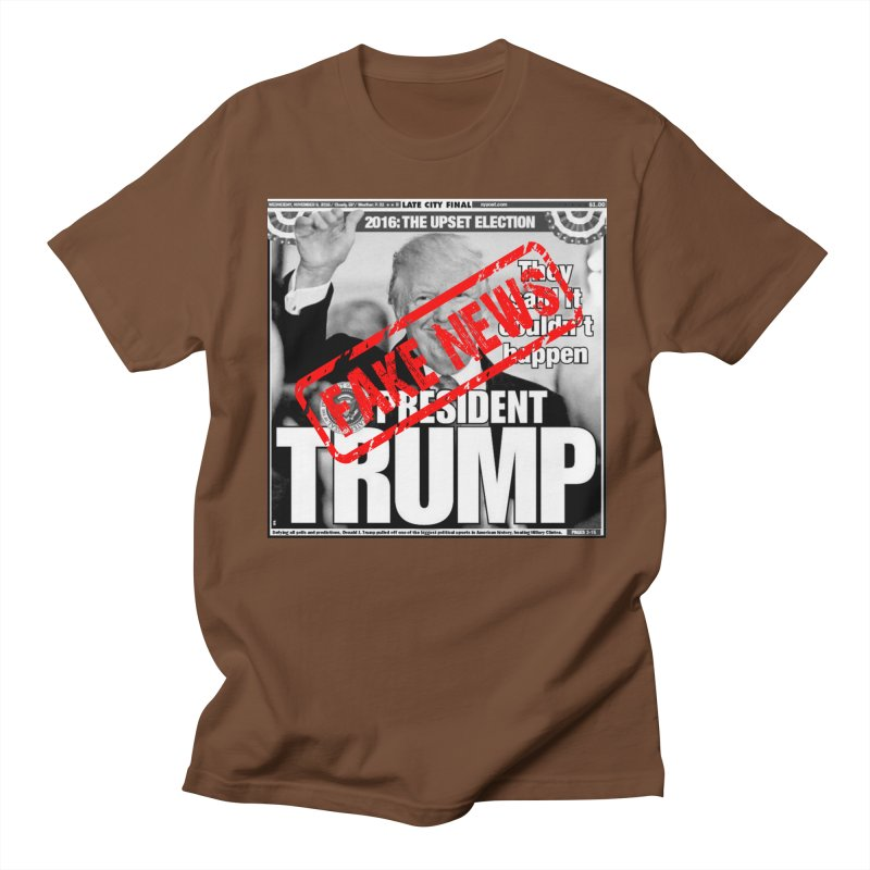 If Only It Was 'FAKE NEWS' Men's T-Shirt by Paparaw's T-Shirt Design