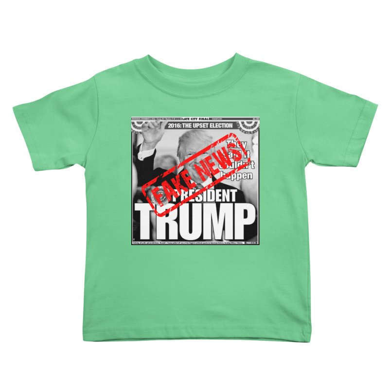 If Only It Was 'FAKE NEWS' Kids Toddler T-Shirt by Paparaw's T-Shirt Design