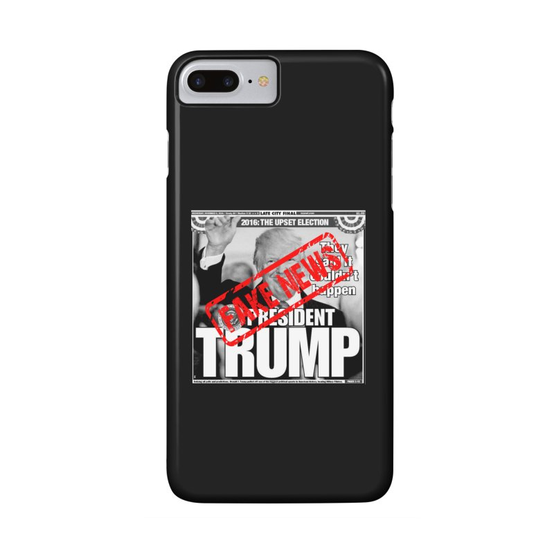 If Only It Was 'FAKE NEWS' Accessories Phone Case by Paparaw's T-Shirt Design