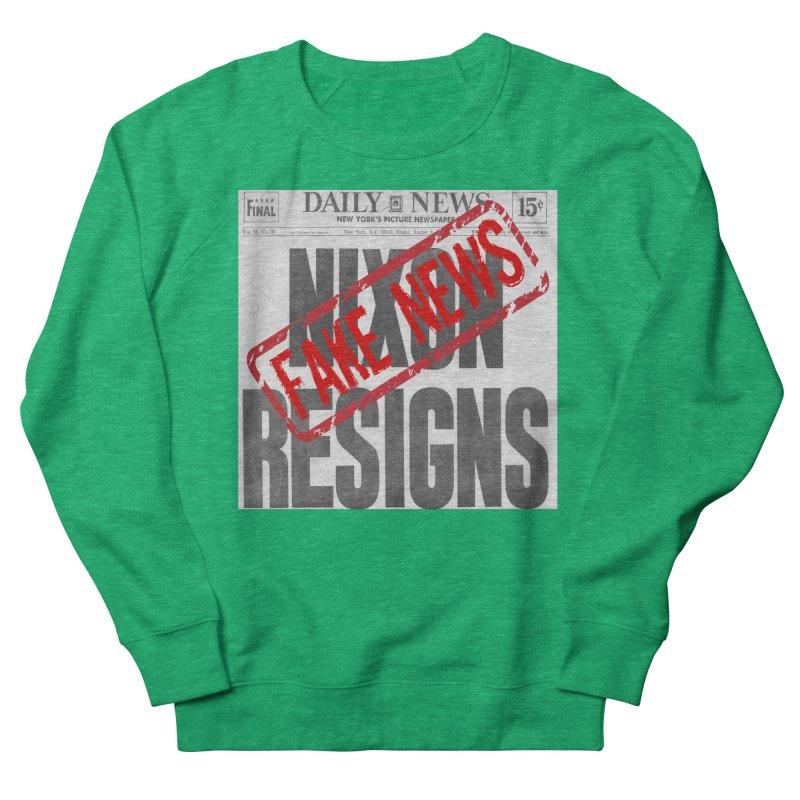 Everything Republican 'FAKE NEWS' Women's Sweatshirt by Paparaw's T-Shirt Design