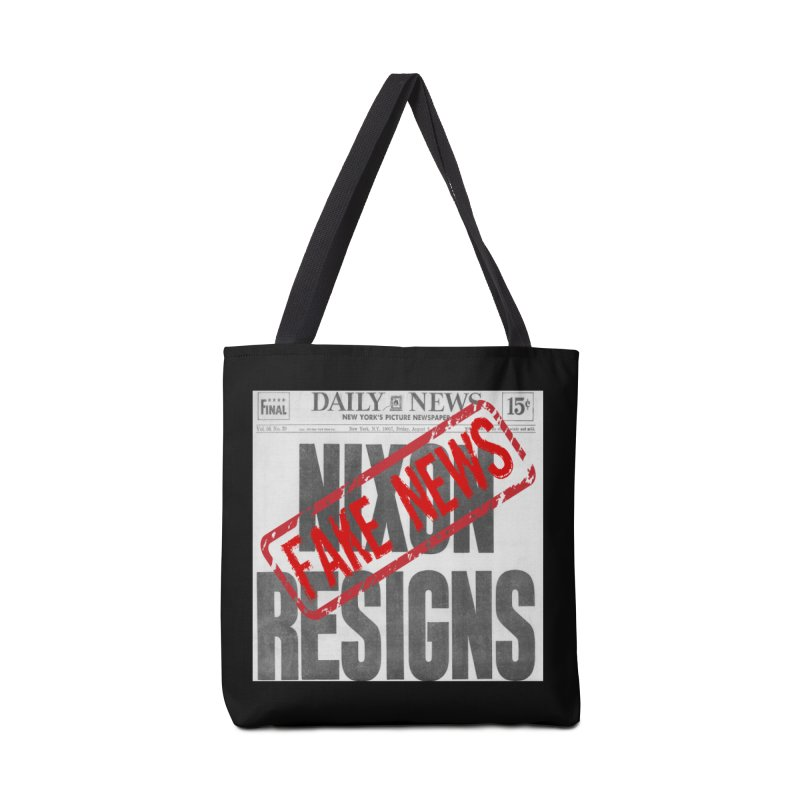 Everything Republican 'FAKE NEWS' Accessories Bag by Paparaw's T-Shirt Design