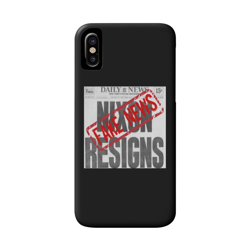 Everything Republican 'FAKE NEWS' Accessories Phone Case by Paparaw's T-Shirt Design