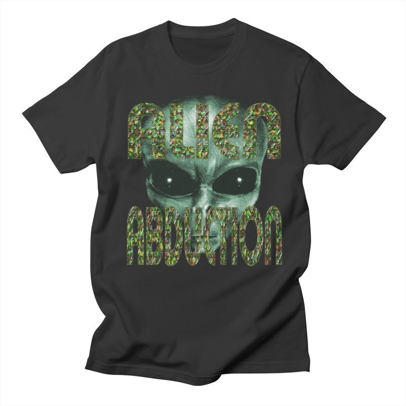 Alien Abduction 1 in Men's T-Shirt Smoke by Paparaw's T-Shirt Design