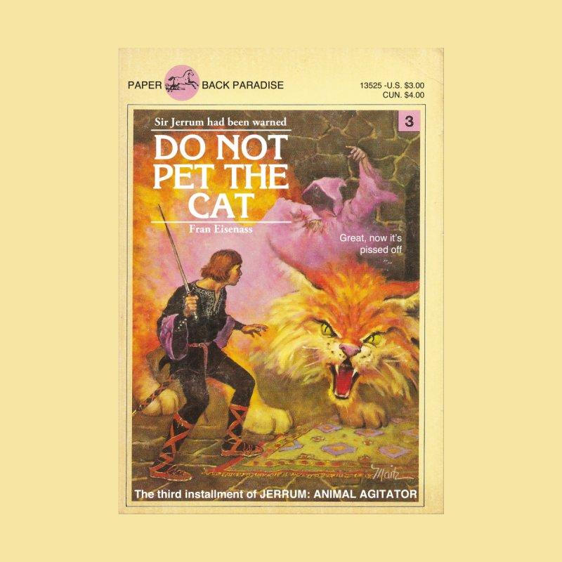 DO NOT PET THE CAT Men's Cut & Sew by Paperback Paradise