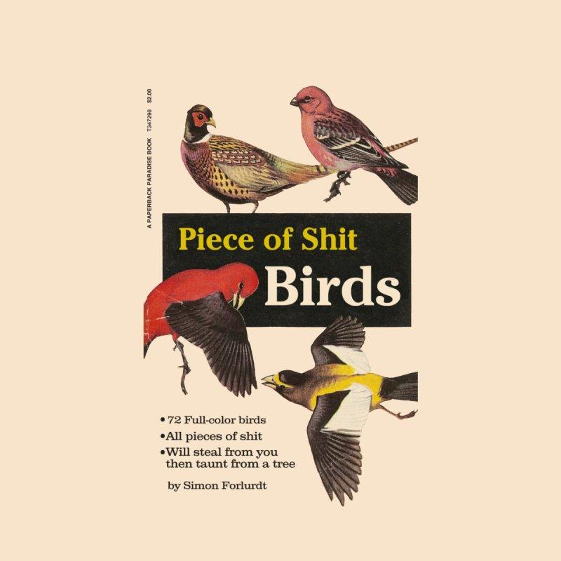 Piece of Shirt Birds Men's Cut & Sew by Paperback Paradise