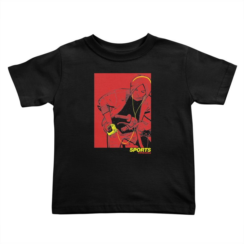 SPORTS Kids Toddler T-Shirt by Paper Girls Shop