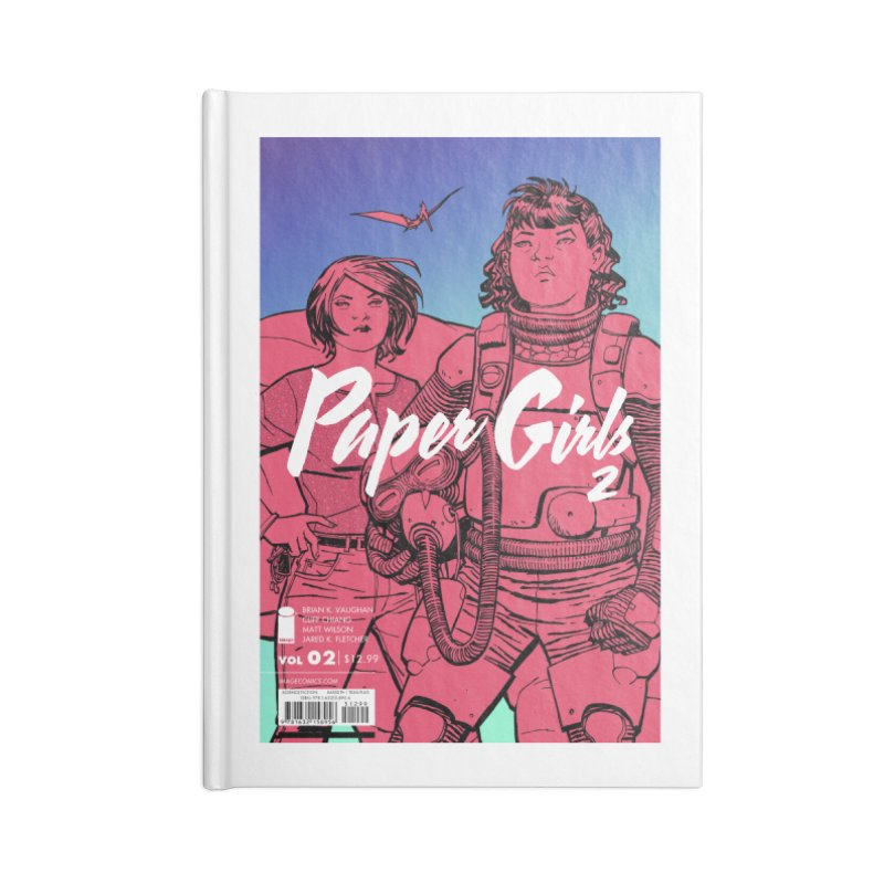 Two for the Show Accessories Lined Journal Notebook by Paper Girls Shop