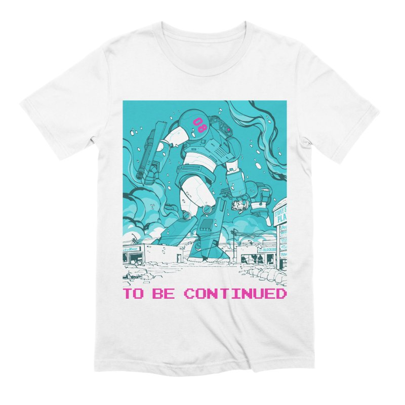 To Be Continued Men's Extra Soft T-Shirt by Paper Girls Shop