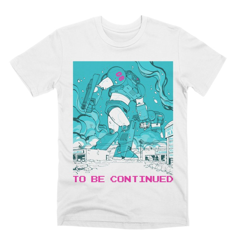 To Be Continued Men's Premium T-Shirt by Paper Girls Shop