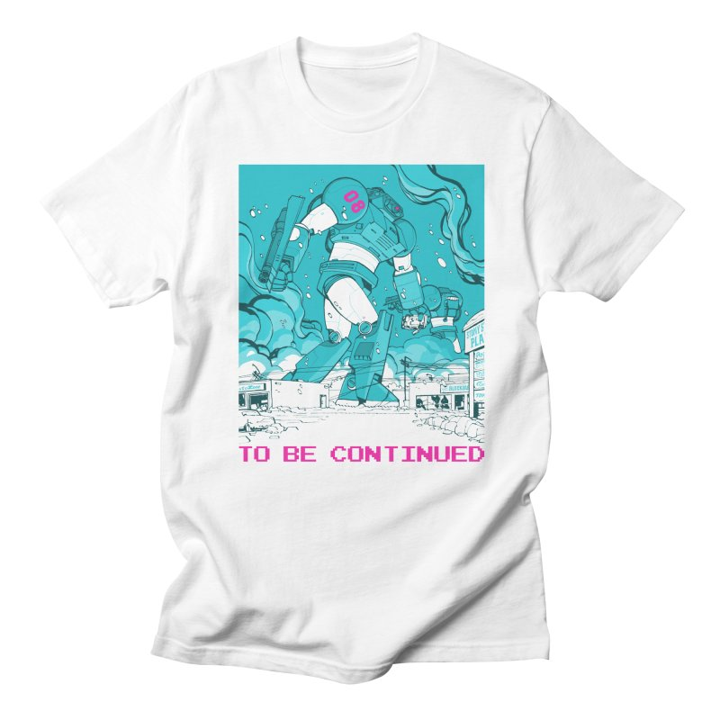To Be Continued Men's T-Shirt by Paper Girls Shop