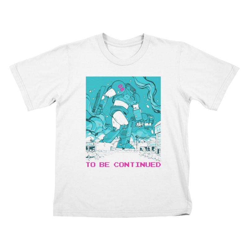 To Be Continued Kids T-Shirt by Paper Girls Shop