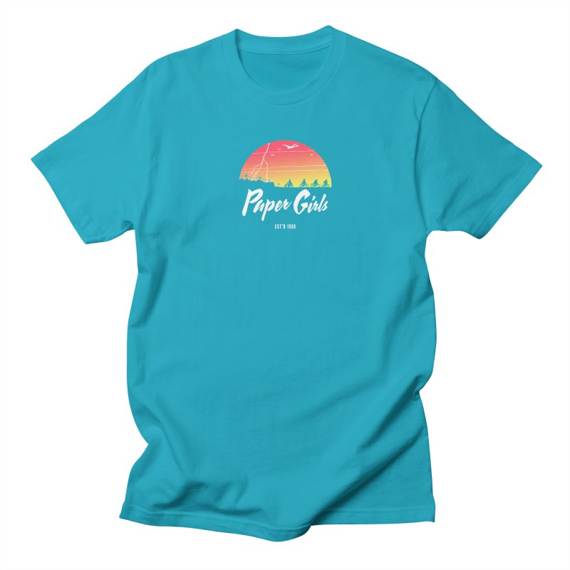 Sunrise Men's Regular T-Shirt by Paper Girls Shop