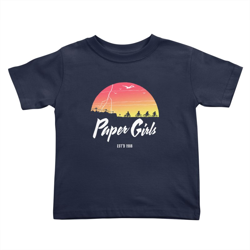 Sunrise Kids Toddler T-Shirt by Paper Girls Shop