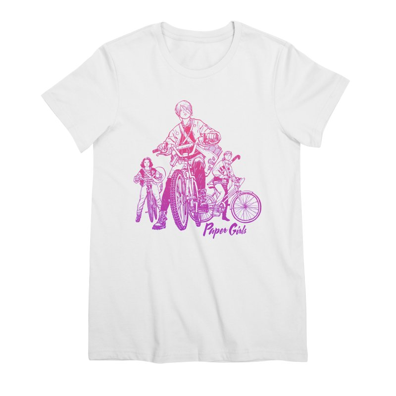 Squad Goals Women's Premium T-Shirt by Paper Girls Shop