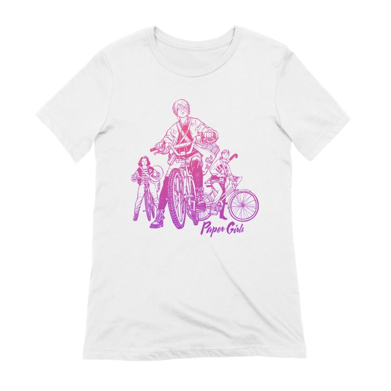 Squad Goals Women's Extra Soft T-Shirt by Paper Girls Shop