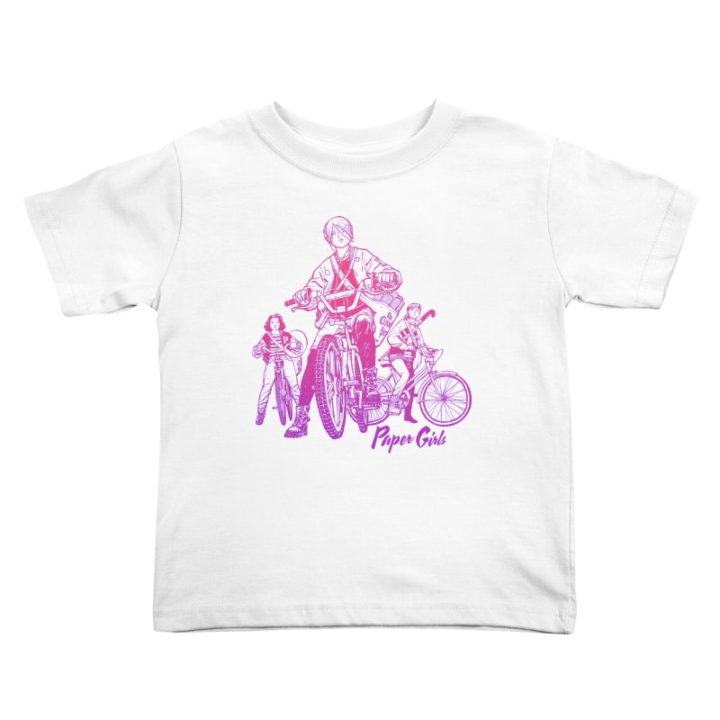 Squad Goals Kids Toddler T-Shirt by Paper Girls Shop
