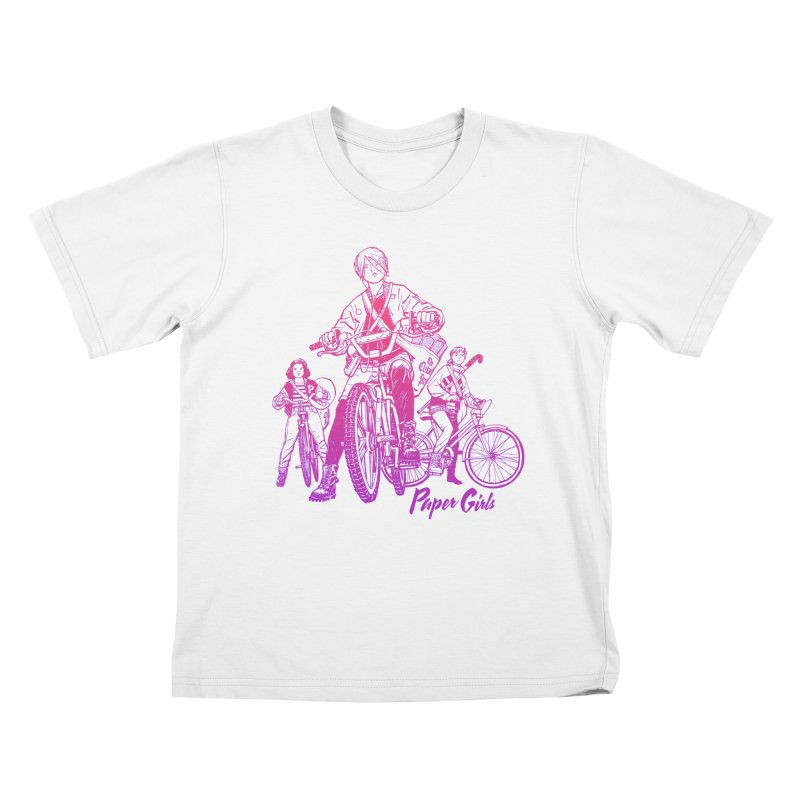 Squad Goals Kids T-Shirt by Paper Girls Shop