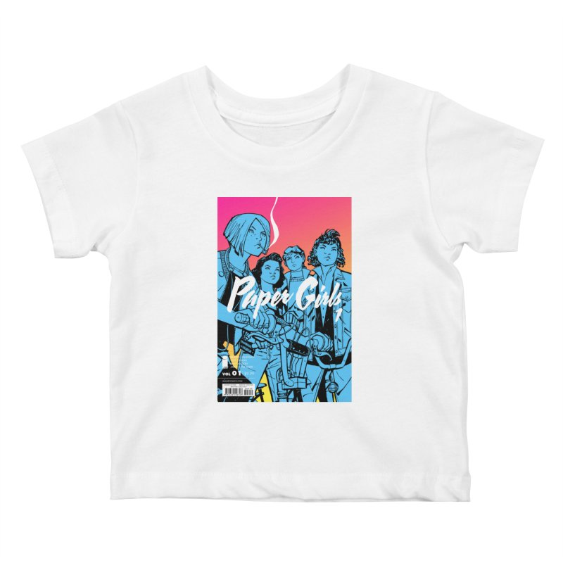 Limited Edition #1 Kids Baby T-Shirt by Paper Girls Shop