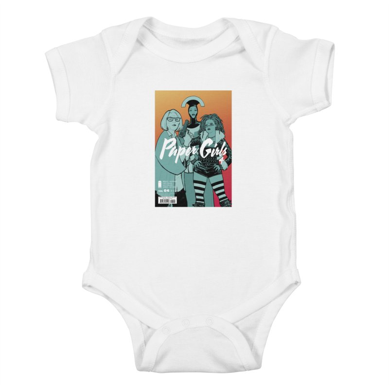 Four to Go! Kids Baby Bodysuit by Paper Girls Shop
