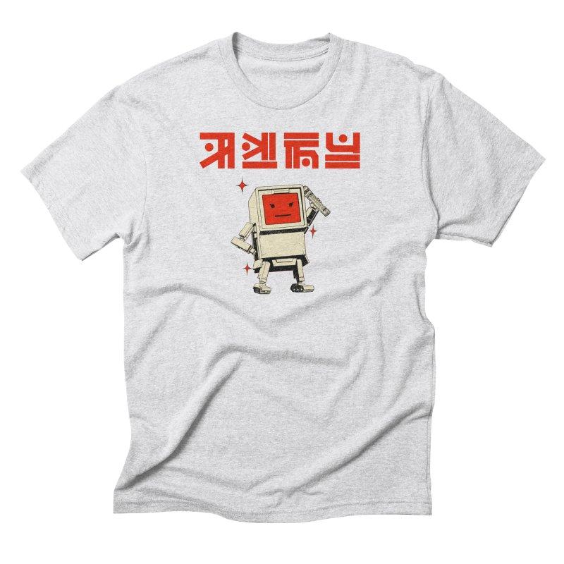 Dash Dash Dot Men's Triblend T-Shirt by Paper Girls Shop