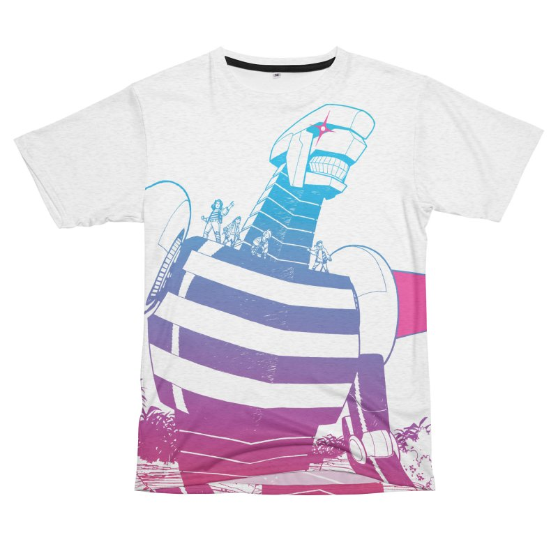 Giant Robot - All-Over Print Men's Cut & Sew by Paper Girls Shop