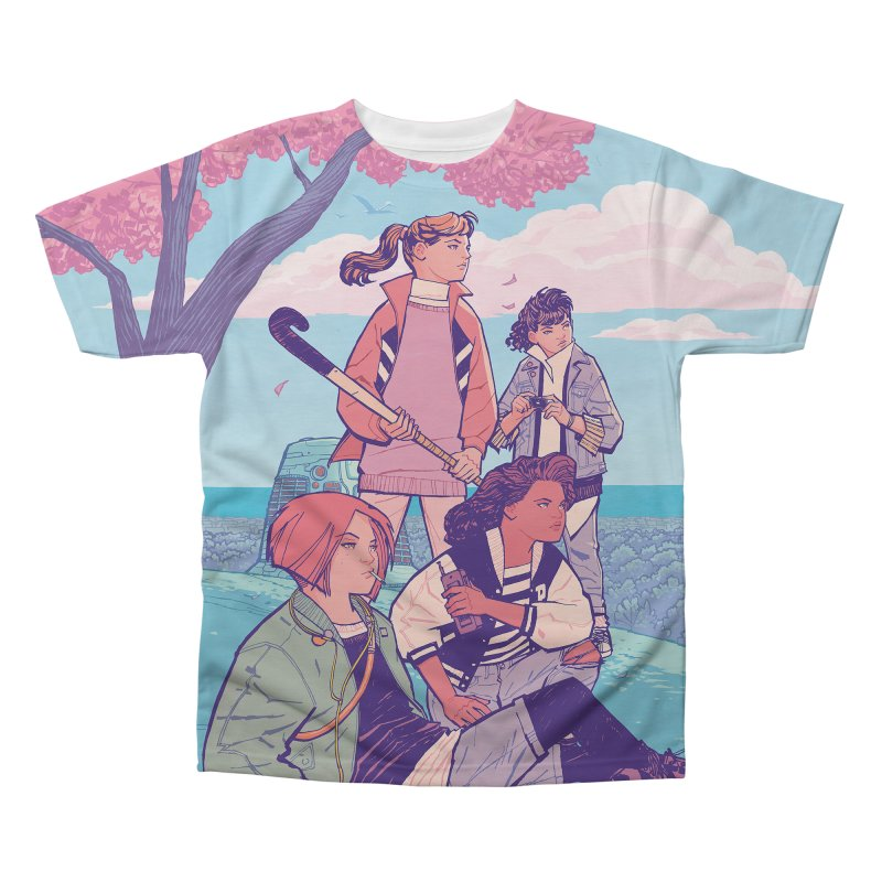 Stony Stream Queens - All-Over Print Men's Regular All Over Print by Paper Girls Shop