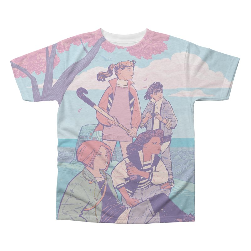 Stony Stream Queens - All-Over Print Men's Triblend All Over Print by Paper Girls Shop