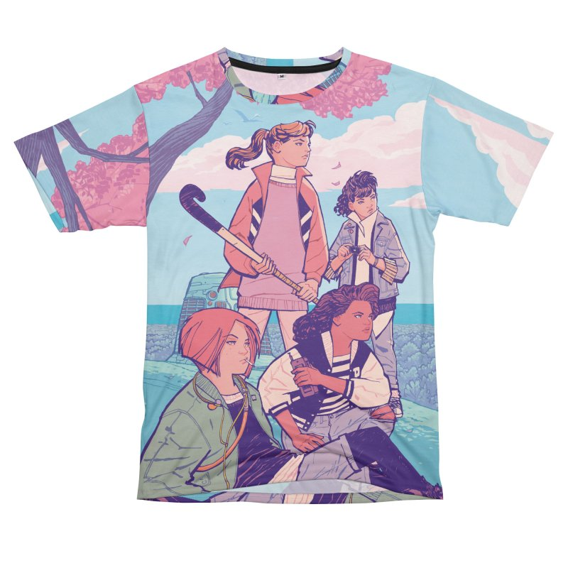 Stony Stream Queens - All-Over Print Women's Cut & Sew by Paper Girls Shop