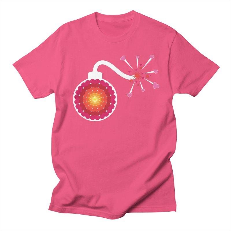 Love Bomb Men's T-Shirt by Paper Heart Dispatch's Artist Shop