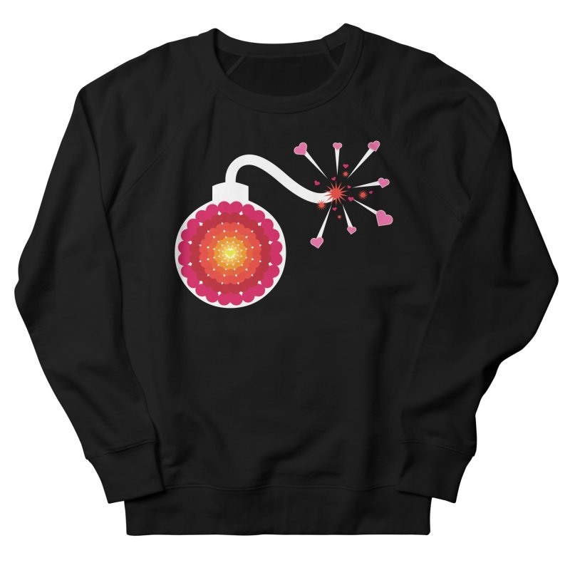 Love Bomb Women's Sweatshirt by Paper Heart Dispatch's Artist Shop