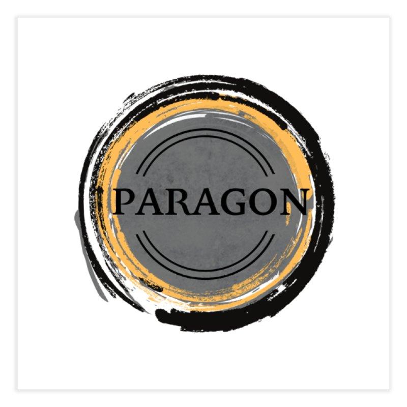Paragon LARP - Logo Home Fine Art Print by Paragon LARP Merch